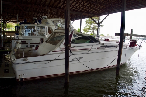 1987 Sea Ray 460 Express Cruiser
